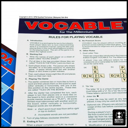 Vocable - English (SPM166)