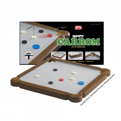 Carrom Junior Traveller - Brown (SPM172)