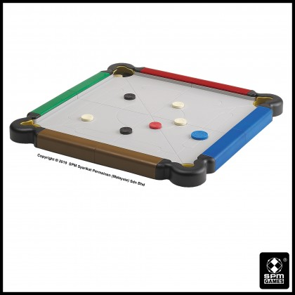 Carrom Junior Traveller - Multi Colour (SPM173)