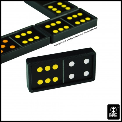 Dominoes - Colour Dots (SPM160)